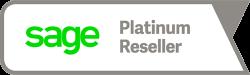 Sage Platinum Reseller Logo